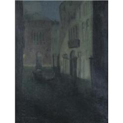 Mary McCrossan British RBA [1863-1934]VENICEoil on canvas20 x 16 in. (50.8 x 40.6 cm)signed & titled