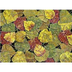 Peggy Bagshaw Canadian [20th/21st century]AUTUMN LEAVESpastel on suede matboard30 x 40 in. (76.2 x 1