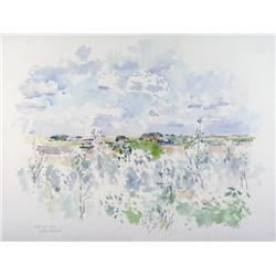 Reta Madeline Cowley Canadian CSPWC [1910-2004]SUMMER CLOUDS; 1978watercolour on paper22.5 x 29.5 in