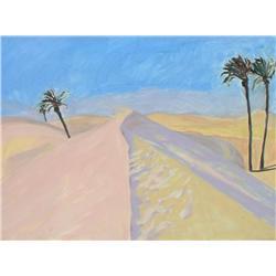 Barbara Ballachey Canadian ASA [b. 1949]SAHARA; 1981oil on canvas36 x 48 in. (91.4 x 121.9 cm)signed