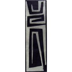 Marion Florence Nicoll Canadian ASA, RCA [1909-1985]STANDING FIGURE; 1963color woodcut on paper; ed.