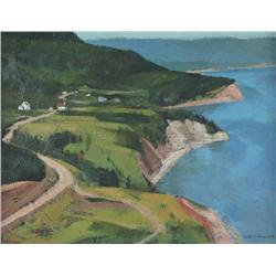 Alan Caswell Collier Canadian OSA, RCA [1911-1990]ASPY BAY, CAPE BRETON ISLANDoil on board12 x 16 in