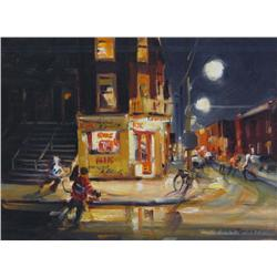 Terry Tomalty Canadian [b. 1935]RUE MARIEANNEoil on canvas12 x 16 (30.5 x 40.6)signed & titled