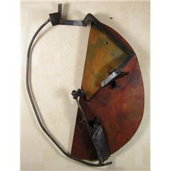Otto Donald Rogers Canadian RCA [b. 1935]AFRICAN OVAL; 1987hand-welded wood and metal wall sculpture