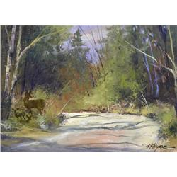 Robert P. Byrne Canadian [20th/21st century]COUNTRY ROAD BRAGG CREEKoil on board12 x 16 in. (30.5 x