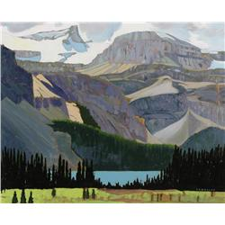 H. William (Bill) Townsend Canadian [b. 1940]STOP FOR LUNCH AT BOW LAKEoil on board16 x 20 in. (40.6