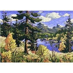 Rod Charlesworth Canadian [b. 1955]AUTUMN, KANANASKISoil on canvas21.5 x 29.75 in. (54.6 x 75.6 cm)s