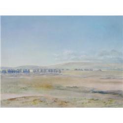 Shirley Watson Canadian [20th/21st century]PRAIRIE LANDSCAPEacrylic on canvas36 x 48 in. (91.4 x 121