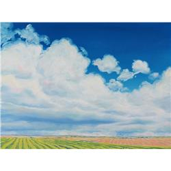 Jim Visser Canadian ASA [b. 1938]CLOUD CONVECTIONoil on canvas12 x 16 in. (30.5 x 40.6 cm)signed, ti