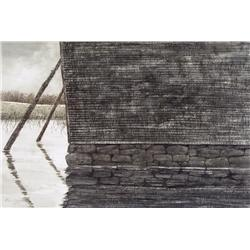 David McKay Canadian [b. 1945]FLOOD; 1979watercolour on paper14.5 x 21 in. (36.8 x 53.3 cm)signed, t
