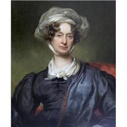 British School [19th century]PORTRAIT OF A WOMAN WITH A SCARFoil on canvas30 x 25 in. (76.2 x 63.5 c