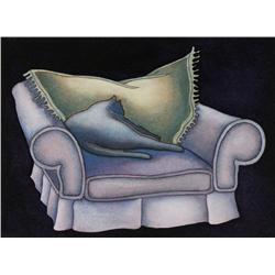 Ron McFadyen Canadian [b. 1943]LULU'S DAYwatercolour on paper8.25 x 11.25 in. (21 x 28.6 cm)sold wit