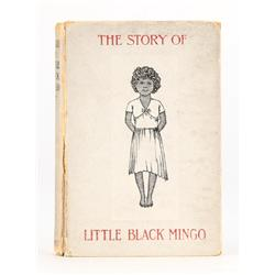 The Story of Little Black Mingo, presentation copy inscribed by Bannerman to her brother