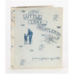 Little Lord Fauntleroy, in the rare dust jacket