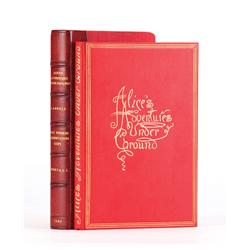 Alice's Adventures Under Ground, First Edition, presentation copy inscribed by Lewis Carroll to the