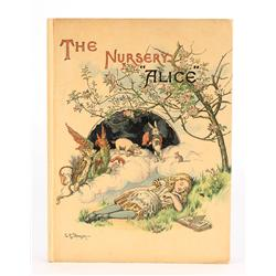 "The Nursery ""Alice"", rare First Edition, presentation copy inscribed by Lewis Carroll's sister"
