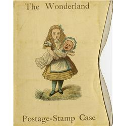 The Wonderland Postage-Stamp Case, inscribed by Lewis Carroll