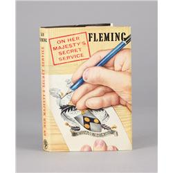 On Her Majesty's Secret Service, First Edition inscribed by Ian Fleming to his Aunt