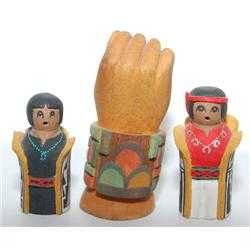 THREE HOPI ITEMS