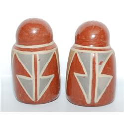 SANTA CLARA SALT & PEPPER SHAKERS