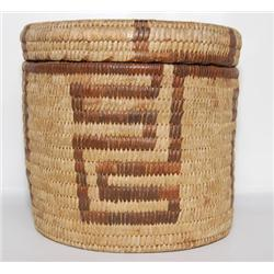 PAPAGO LIDDED BASKET