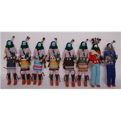 SET OF NAVAJO DOLLS
