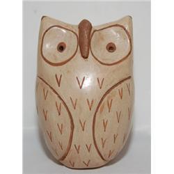 JEMEZ POTTERY OWL