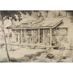 Alex A. Blum (1888-1965) Abigail Jones Prop., Lithograph,