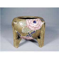 An Amphora Pottery Vase.