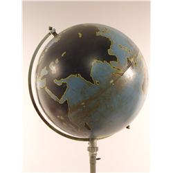 A Vintage Denoyer Geppert Company Globe on Stand.