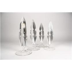 A Set of Four Crystal Spatiographs.