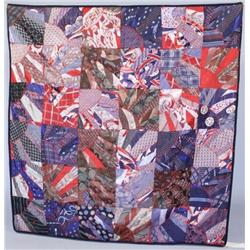 A 20th Century Patchwork Quilt.