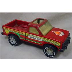 NYLINT METAL MUSCLE GRASS MASTER PICK-UP TRUCK