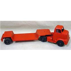 VINTAGE TOOTSIETOY TRUCK AND TRAILER