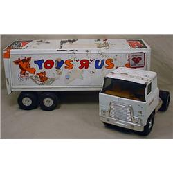 ERTL TOYS R US SEMI TRUCK AND TRAILER