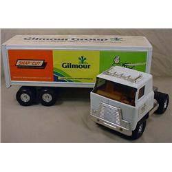 ERTL GILMOUR GROUP SEMI TRUCK AND TRAILER