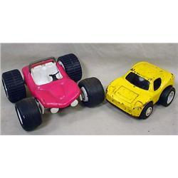 LOT OF 2 VINTAGE TONKA CARS