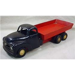 VINTAGE TRUCK W/ TRAILER - TIRED MARKED FUN HO TYR