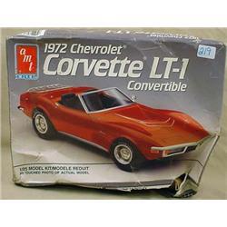 ERTL 1972 CORVETTE LT-Q CONVERTIBLE MODEL - APPEAR
