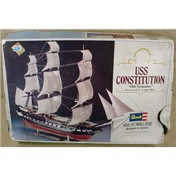 REVELL USS CONSTITUTION OLD IRONSIDES MODEL - APPE