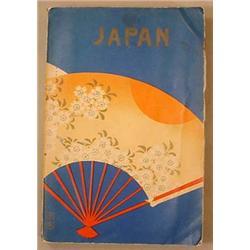 1935 JAPAN POCKET GUIDE BOOK - Incl. customs, hist