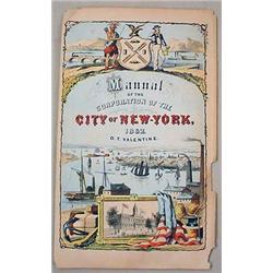 1862 MANUAL OF CORPORATION OF THE CITY OF NEW YORK