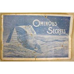 "1894 PABST BREWING ""OMINOUS SECRETS"" BOOKLET - Coo"