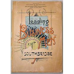 1890 LEADING BUSINESS MEN OF SOUTHBRIDGE, BOSTON B