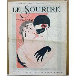 1919 FRENCH  LE SOURIRE  MAGAZINE - Incl. Fantasti