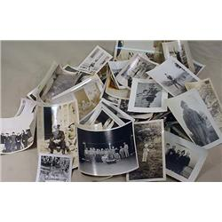 LARGE LOT OF VINTAGE PHOTOGRAPHS - Incl. Military,