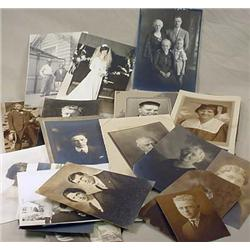 LARGE LOT OF VINTAGE PORTRAIT PHOTOGRAPHS - Incl.