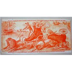 LARGE VICTORIAN TRADE CARD - STANDARD SCREW FASTEN