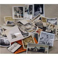 LARGE LOT OF VINTAGE PHOTOGRAPHS - Incl. Skiing, C