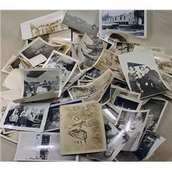 LARGE LOT OF VINTAGE PHOTOGRAPHS - Incl. Ladies in